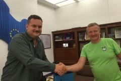 Satu Mare maavanem Pataki Csaba ja PPK juhatuse esimees Andrus Seeme